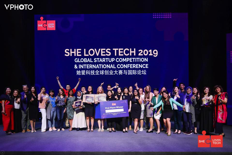 She Loves Tech was also founded by Virginia Tan.