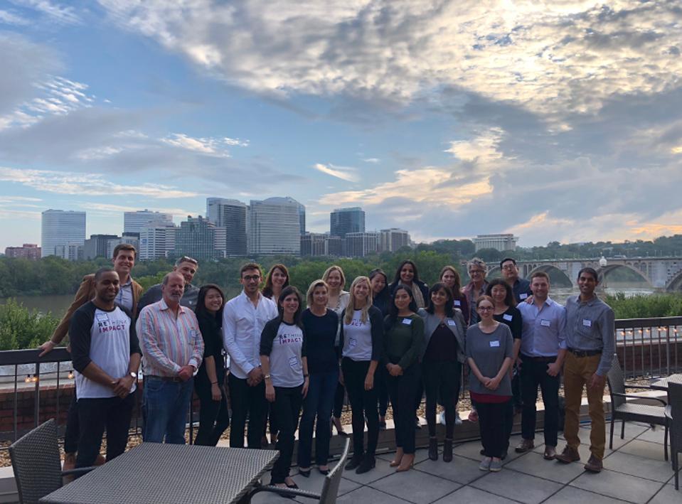 Rethink Impact Team & Portfolio Company Leaders at Annual Summit on Washington DC's Waterfront