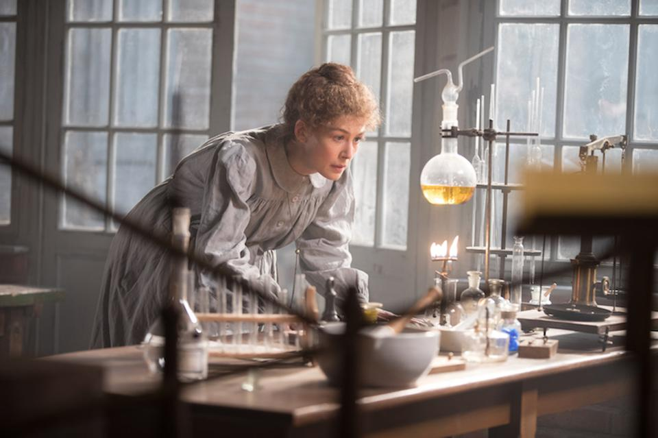 Rosamund Pike in 'Radioactive.'
