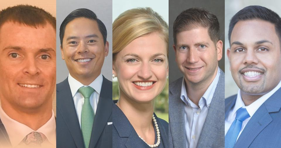 The Forbes/SHOOK Top Next-Gen Advisors roundtable featured Ryan Magnesen and Robert Chen from Morgan Stanley, Rees Mason from Merrill Lynch, Jason Mingelgreen from Stifel and Lance Antony from Wells Fargo.