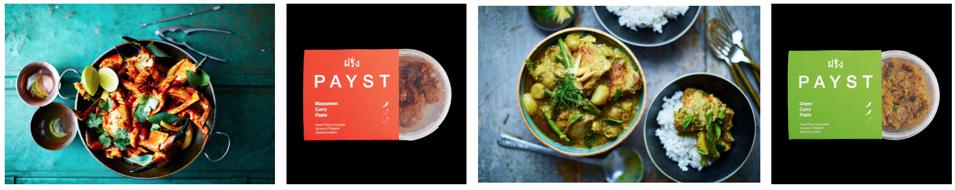 Payst at-home curry pastes