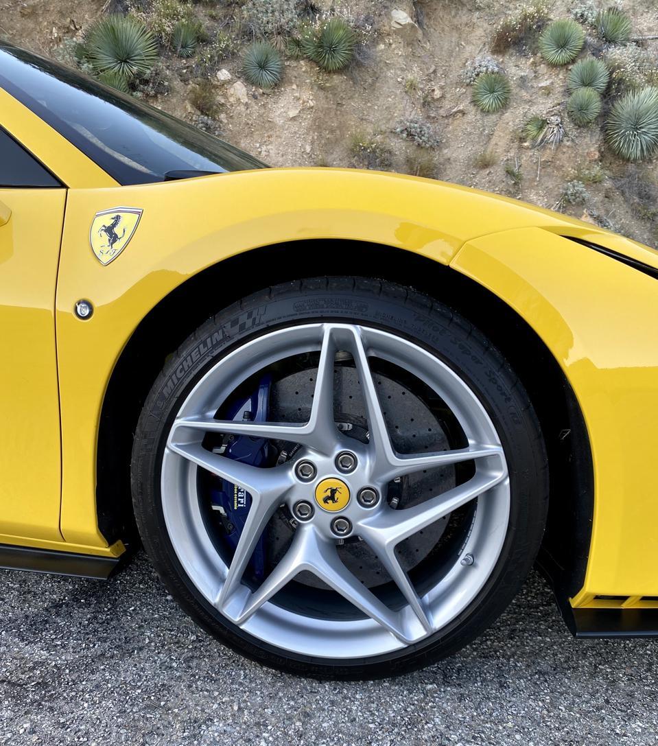 Ferrari F8 Tributo Rear: Ferrari F8 Tributo Spider Mountain Test: Fulfilling The