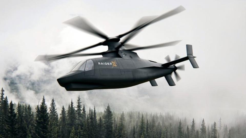 A rendering of Sikorsky's Raider X FARA prototype