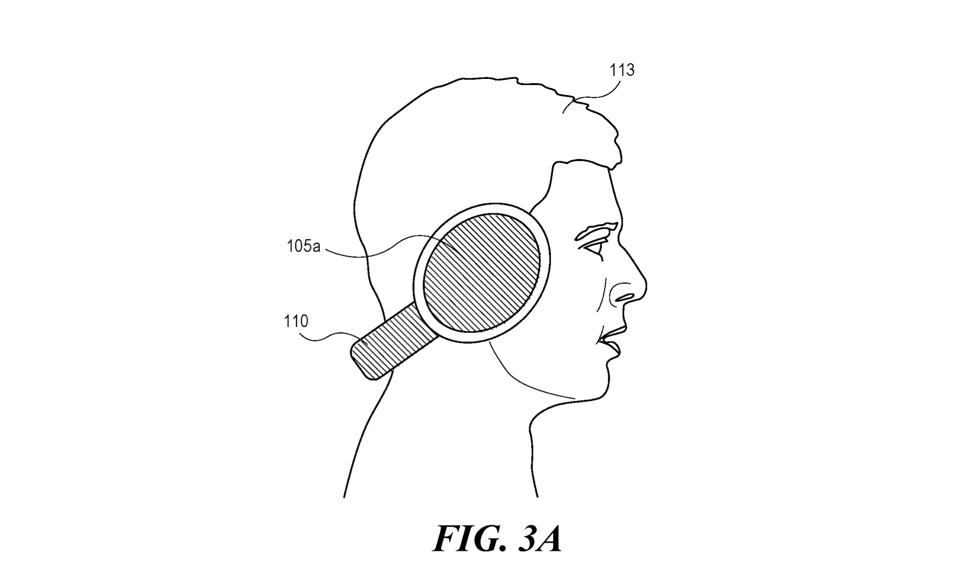 Apple AirPods Studio potrebbe essere indossato sul retro della testa