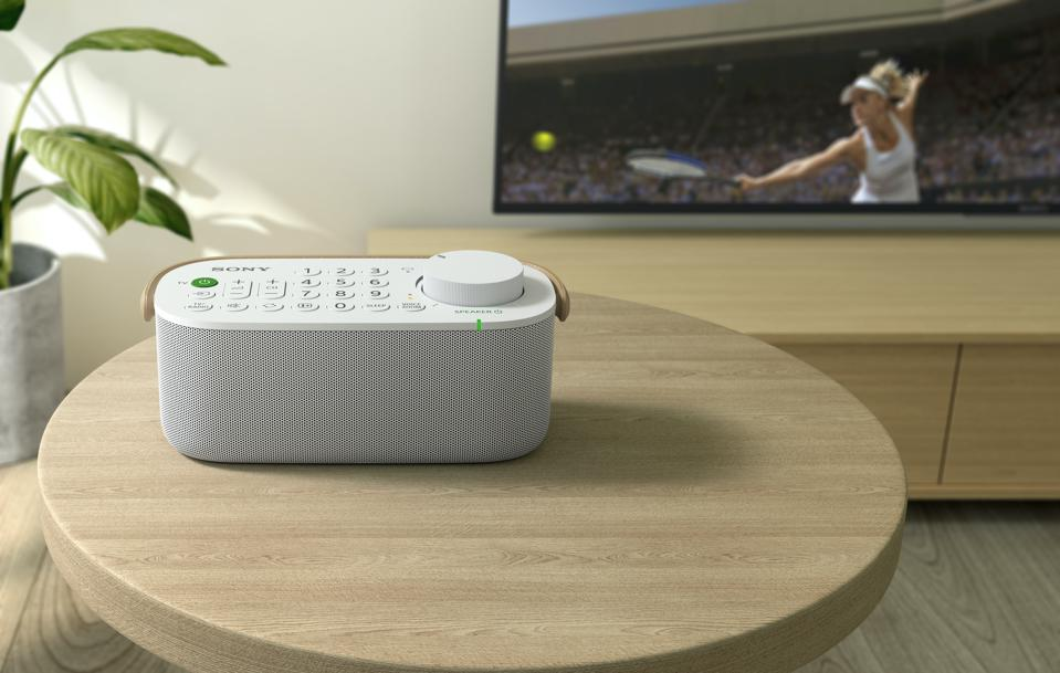 Sony's new wireless TV speaker