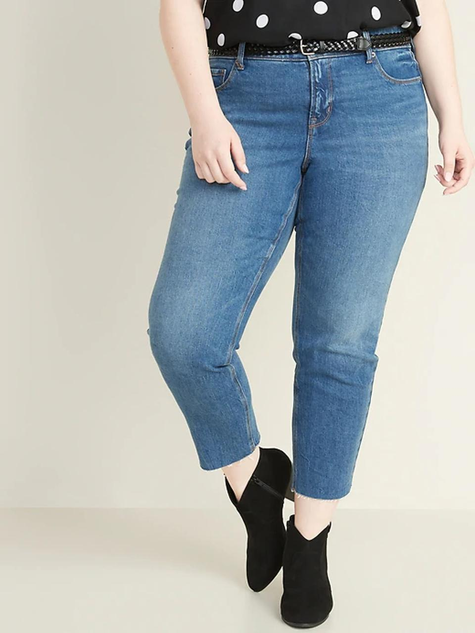 Old Navy High-Waisted Slim Straight