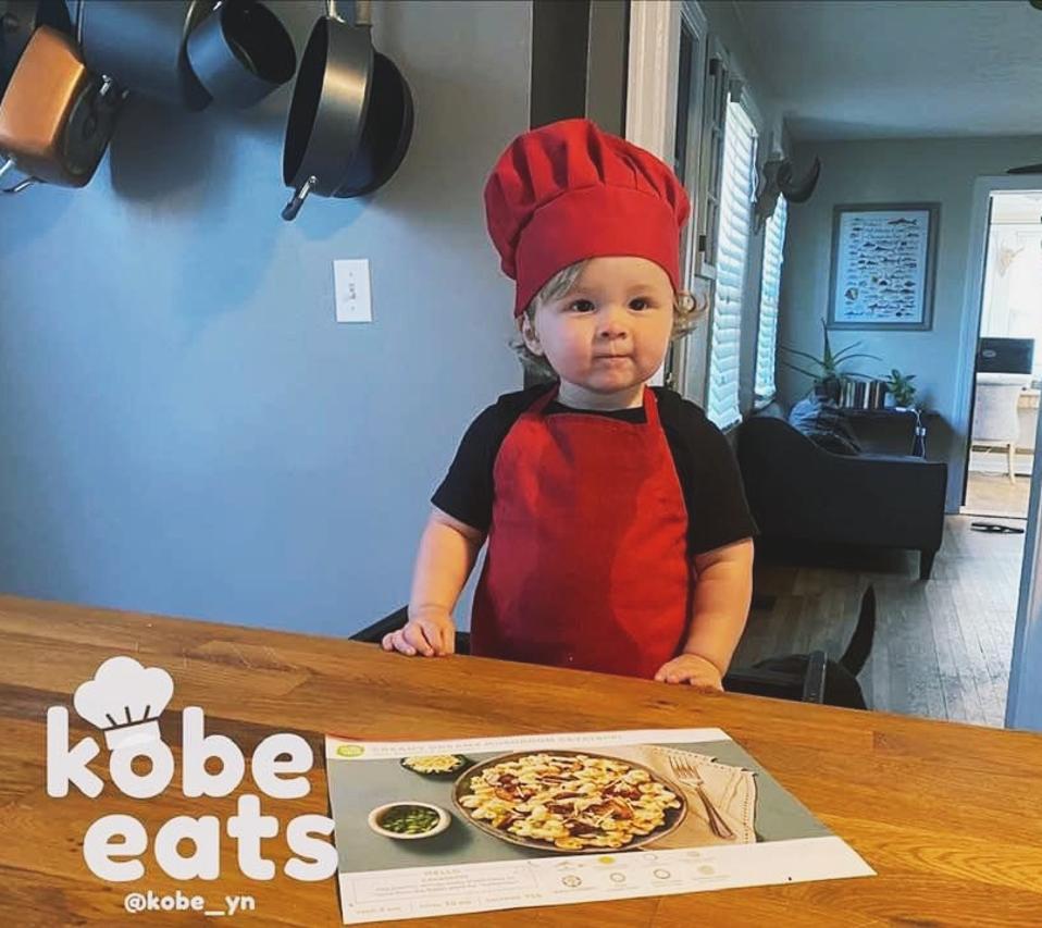 Chef Kobe has 2.5 million followers on Instagram
