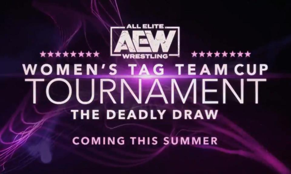 AEW announced a Deady Draw women's tag team tournament on AEW Dynamite.