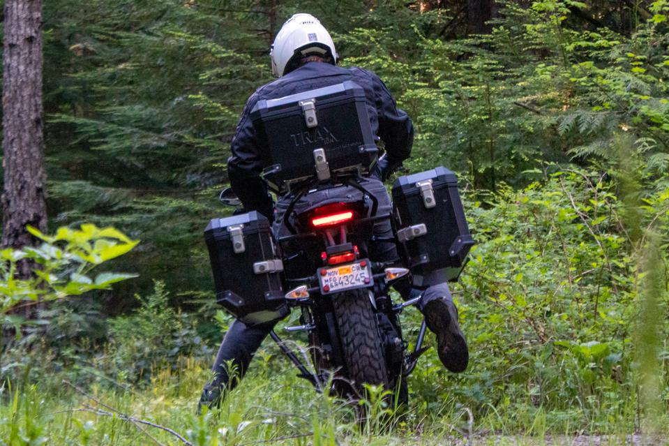 Zero DSR/BF Black Forest Electric Dual-Sport Motorcycle