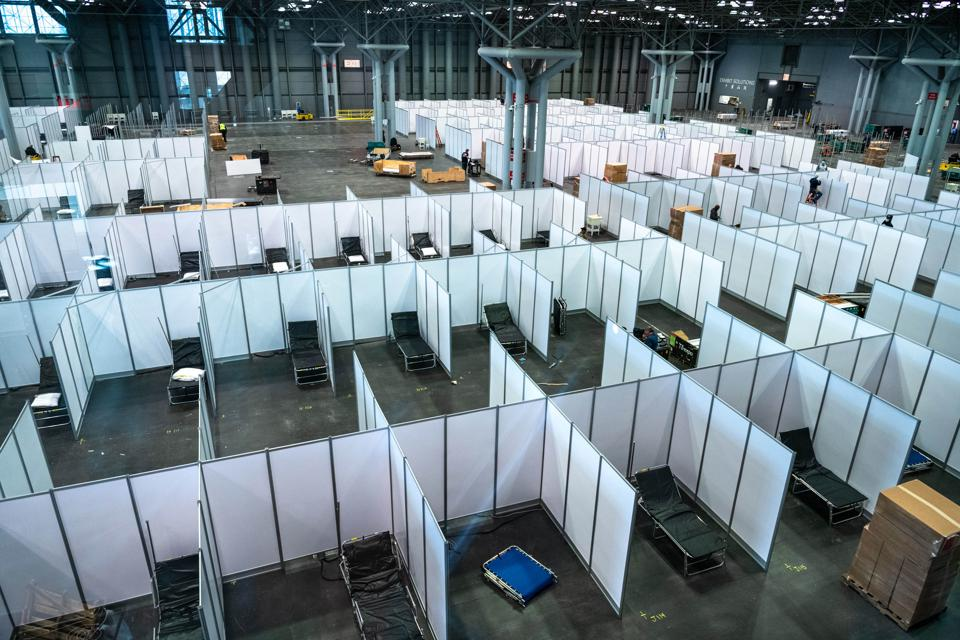 T3 Expo coordinated with FEMA, the Department of Defense, US Health and Human Services, and many other entities to install a temporary field hospital for CoVID-19 patients at New York's Jacob Javits Convention Center.