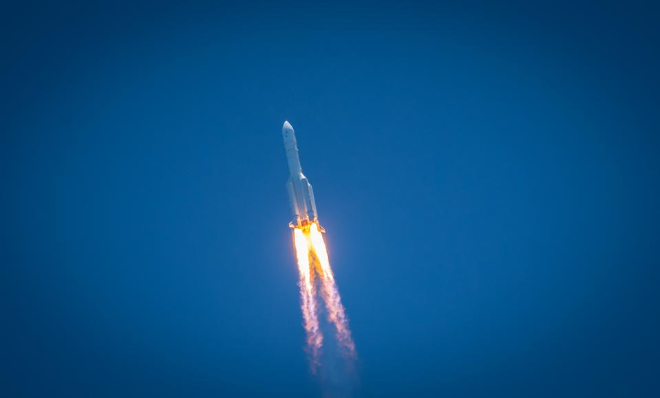Tianwen-1 Mars Probe Launched