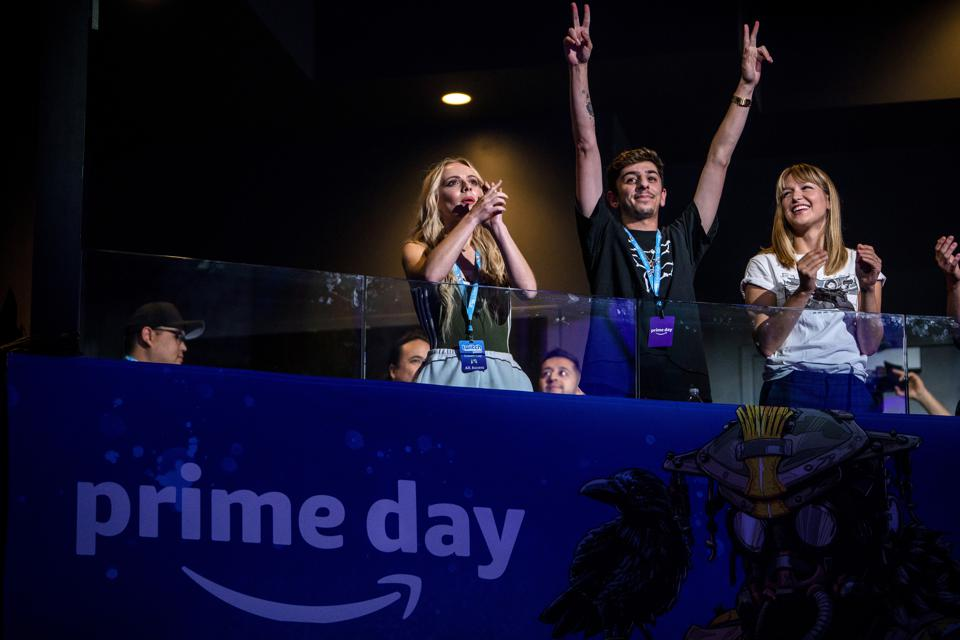 Amazon a marqué le début du Prime Day avec la Twitch Prime Crown Cup