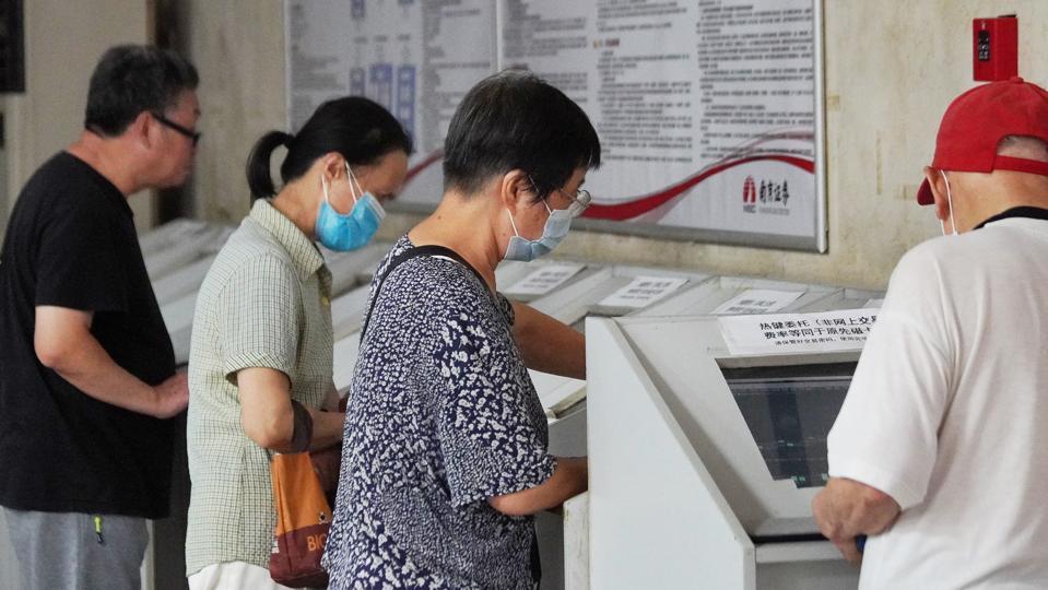 China Stocks On Monday