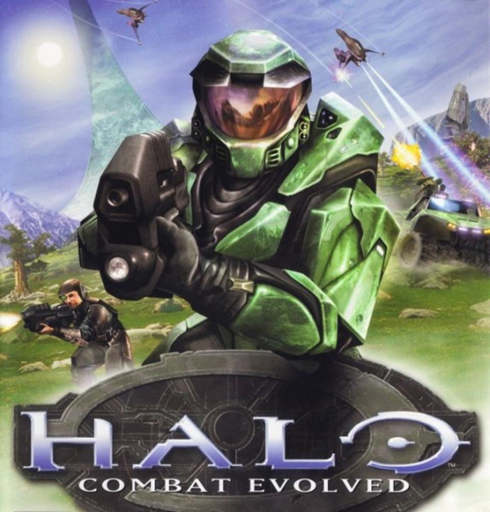 Halo box-art