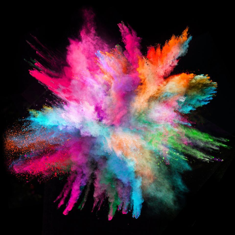 Esplosione colorata.  Perché se il mondo bruciasse, potrebbe anche essere carino.
