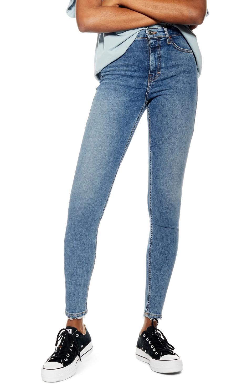 Topshop Jamie Fray Skinny Jeans