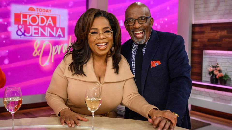 Oprah and Al Roker