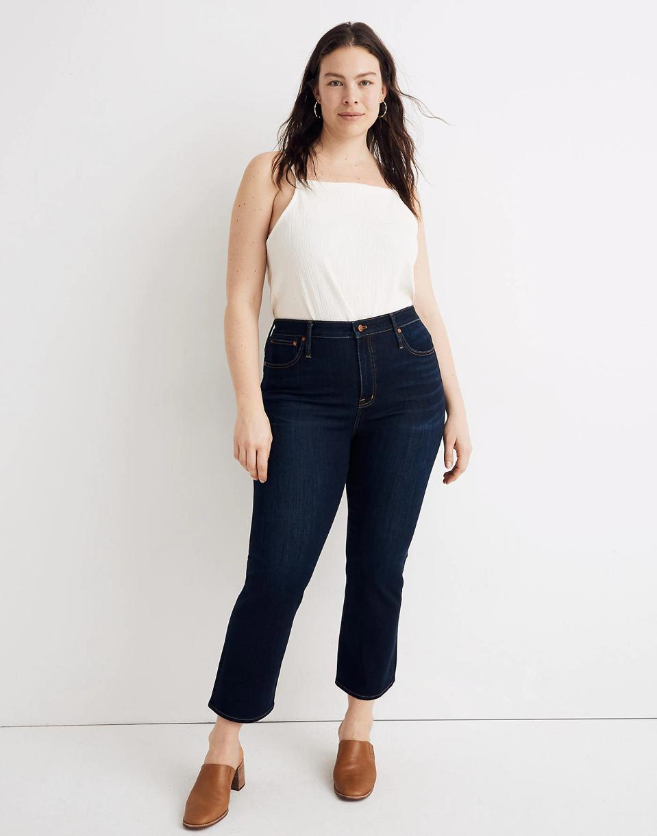 Madewell Curvy Cali Demi-Boot Jeans