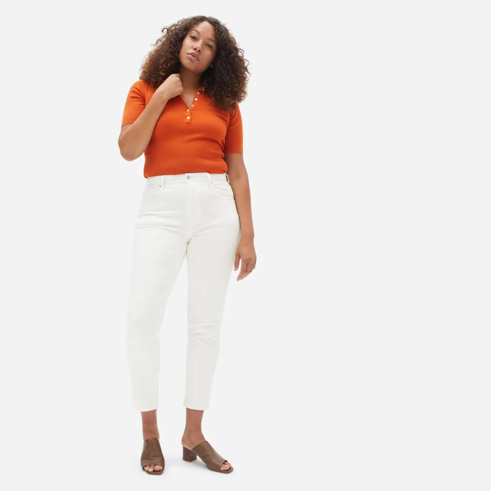 Everlane Curvy Cheeky Straight Jeans