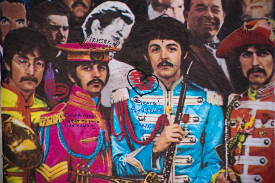 The Beatles' Sgt. Pepper Celebration At Abbey Road Studios
