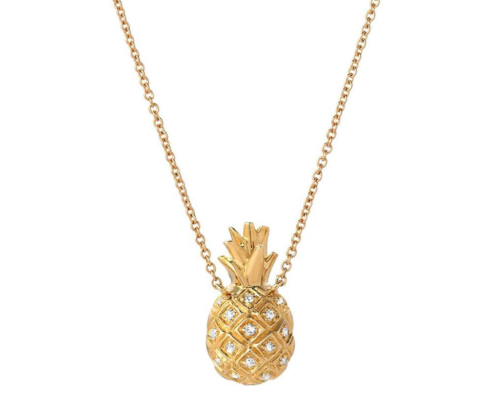 Pineapple Necklace by Liven Co