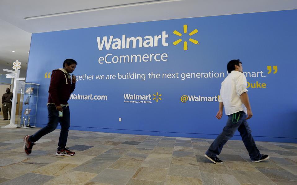 Wal-Mart vs Amazon