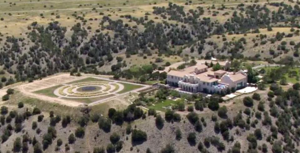 Jeffrey Epstein, New Mexico, real estate, desert