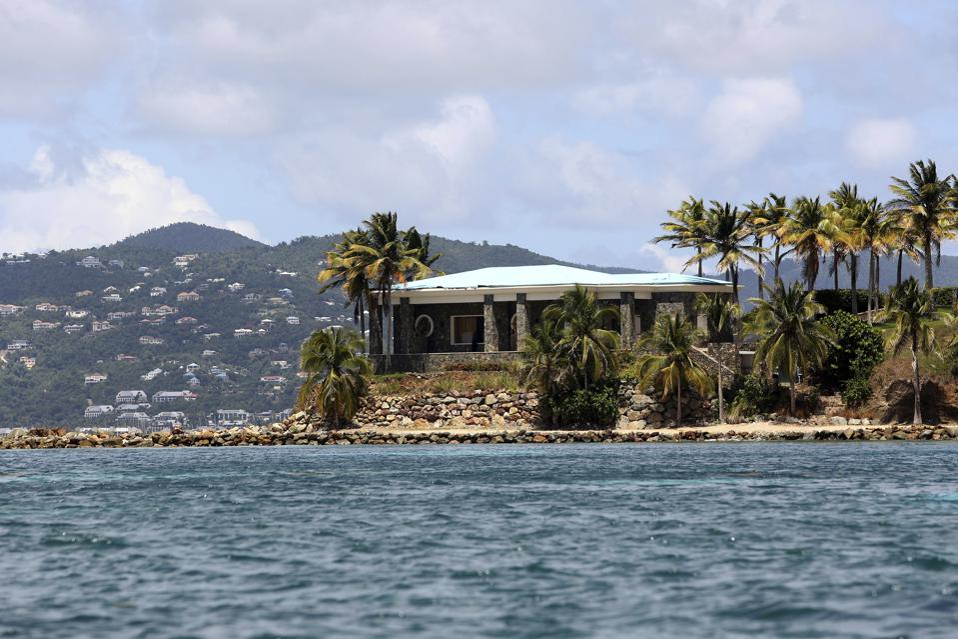 US Virgin Islands, Jeffrey Epstein, Little St. James, Caribbean, crime, FBI, real estate