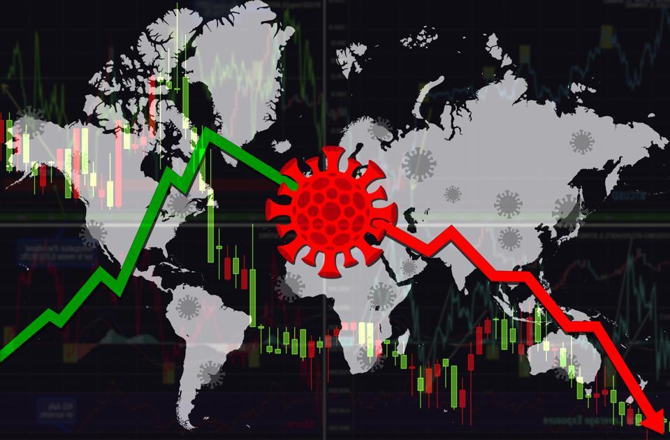 Coronavirus pushes stocks lower