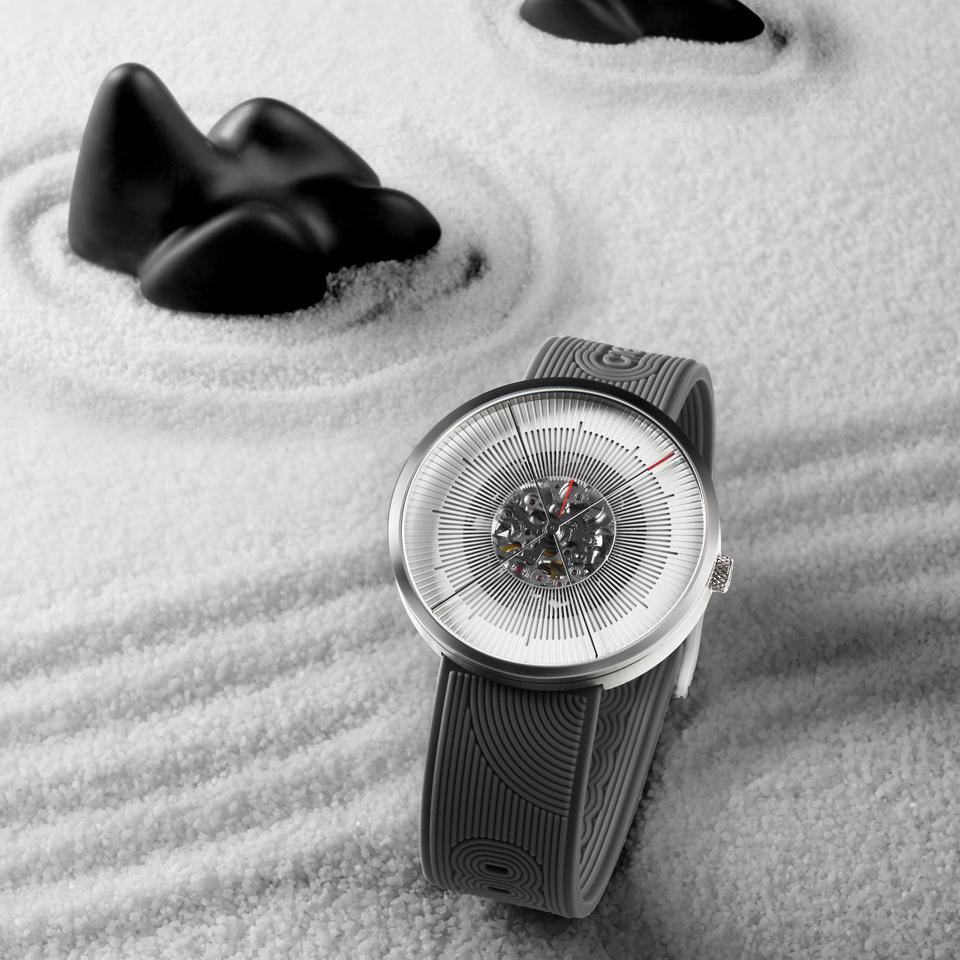 The CIGA Design J Series is designed to be a zen garden worn on your wrist.