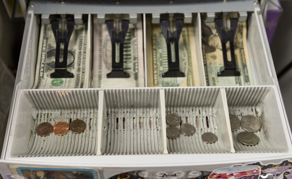 Coin Shortage Cash Register Change Drawer Pennsylvania