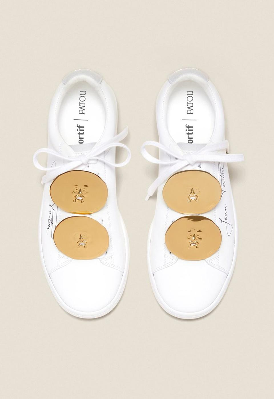 Jewelry low top sneakers