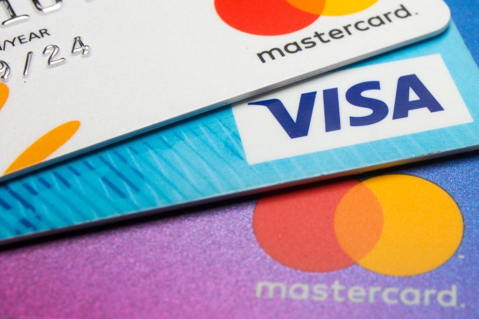 Visa, Mastercard, PayPal, bitcoin, cryptocurrency, image