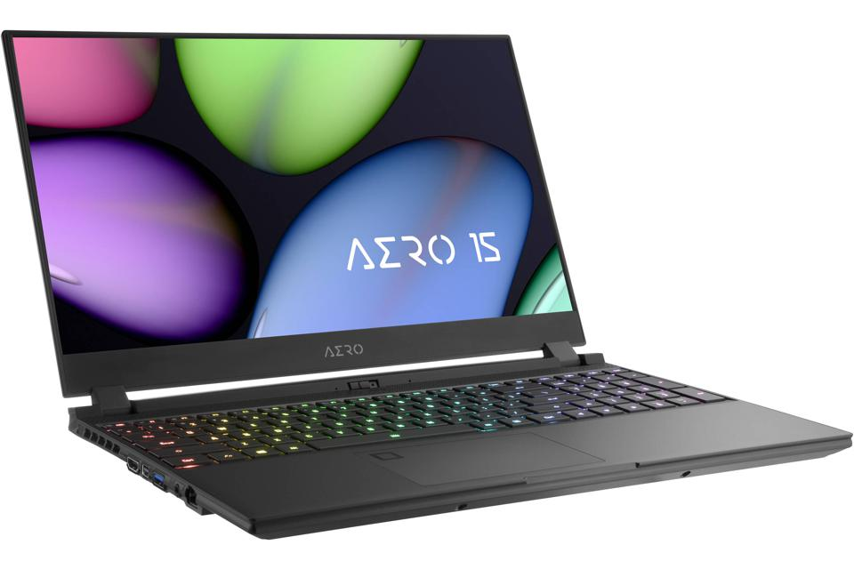 Gigabyte's Aero 15 OLED is a thin and light gaming laptop with up to eight hour's battery life