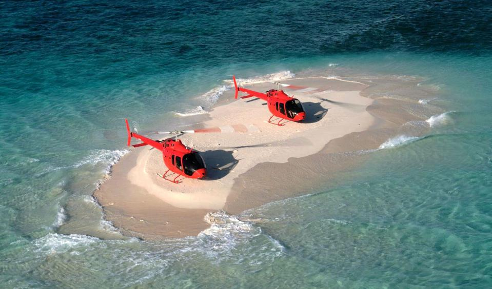 Remote landings with Bell 505 Helicopter