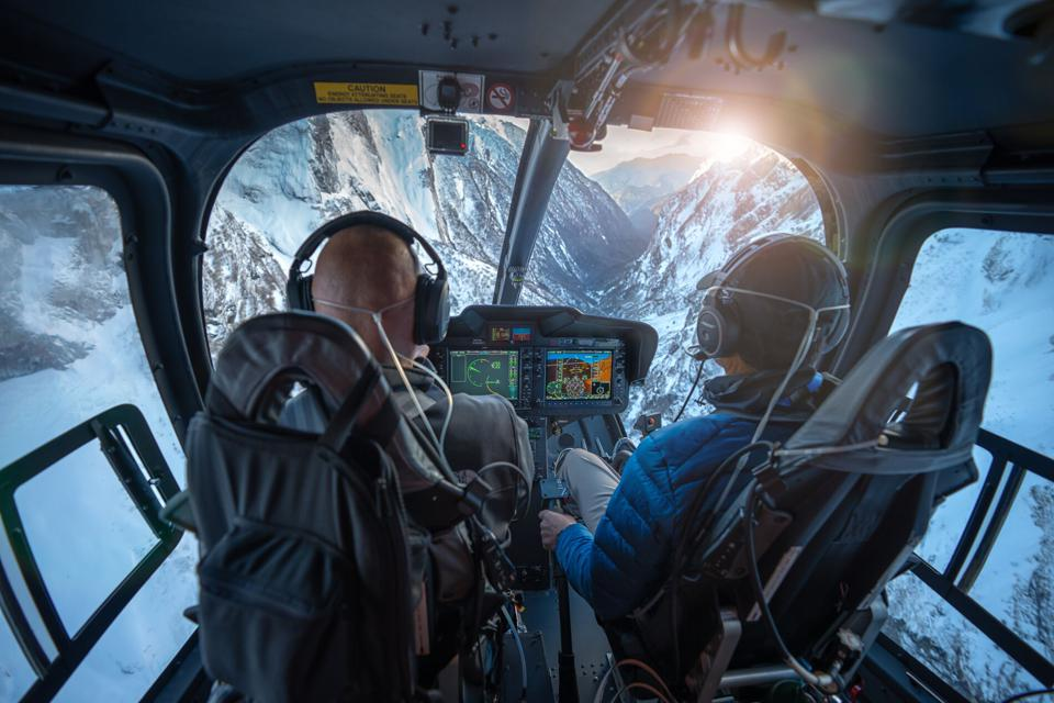 Remote adventures on the Bell 505 helicopter