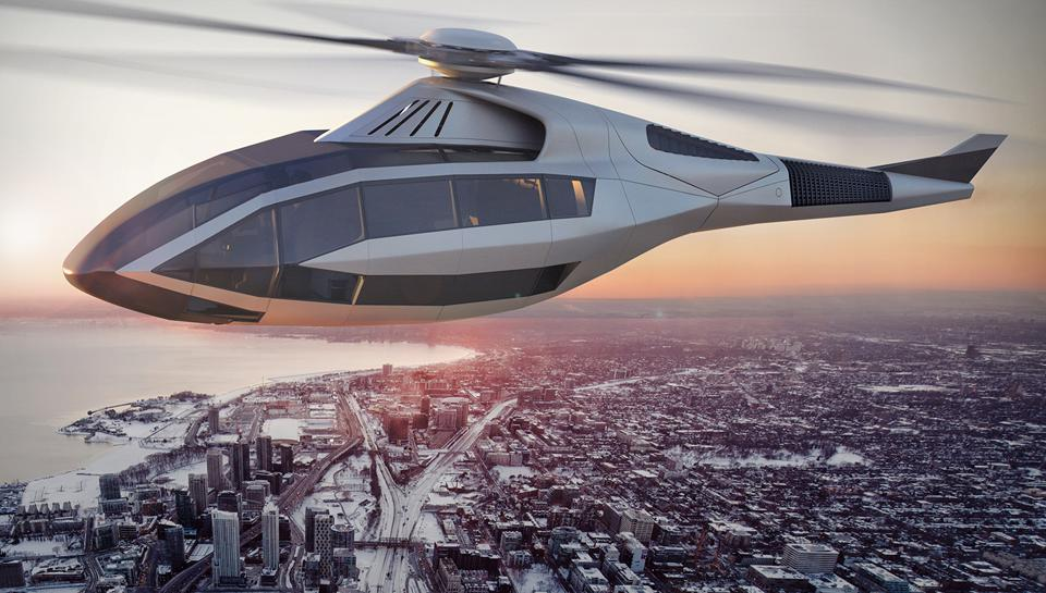 Bell FCX 001 future design with tiltrotor concept