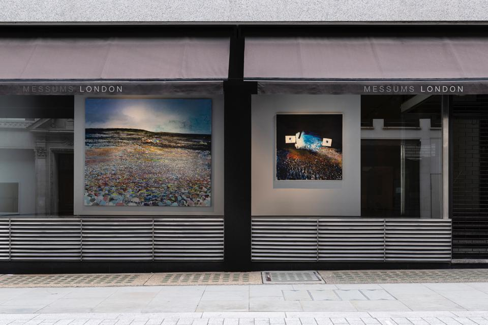 The front of a gallery in London's Cork Street.