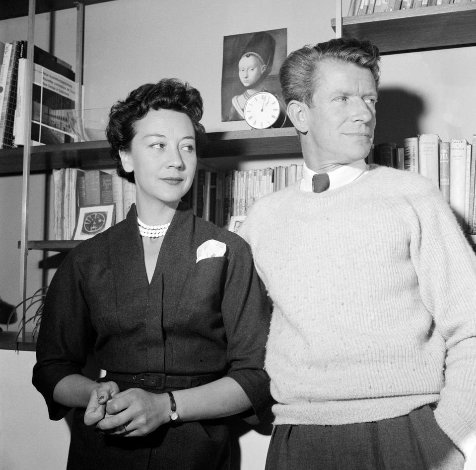 Designers Robin & Lucienne Day, 1955