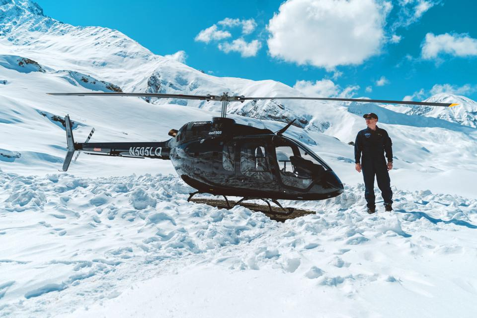 Remote adventures using the Bell 505