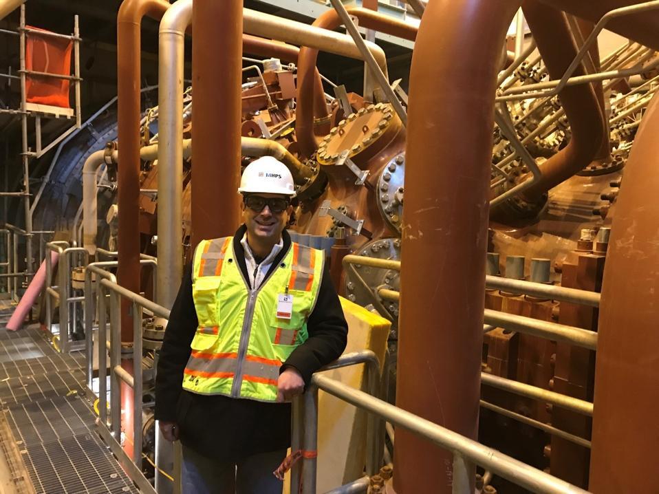 MHPSA's Michael Ducker at Tenaska Westmoreland Generating Station