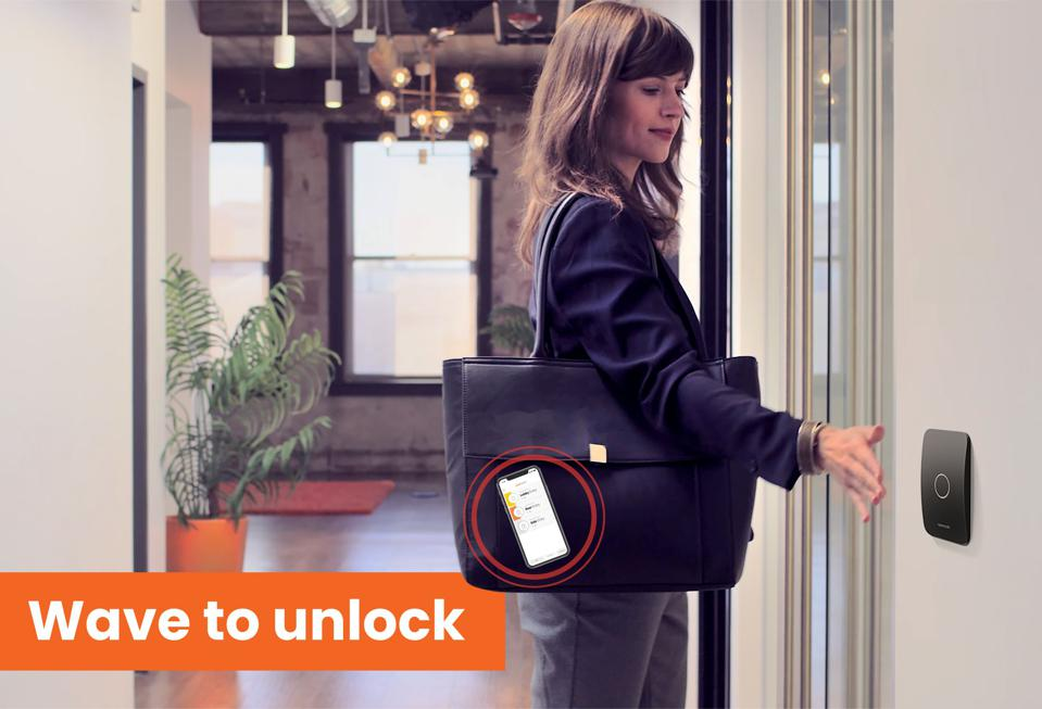 Openpath Wave to Unlock Hands-Free Access Control