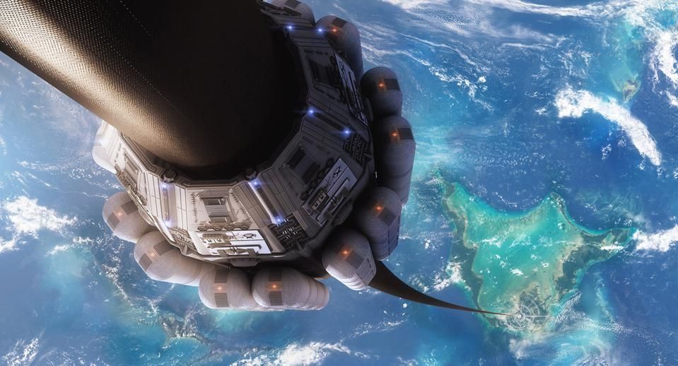 Graphene is the only material strong and flexible enough to make a space elevator