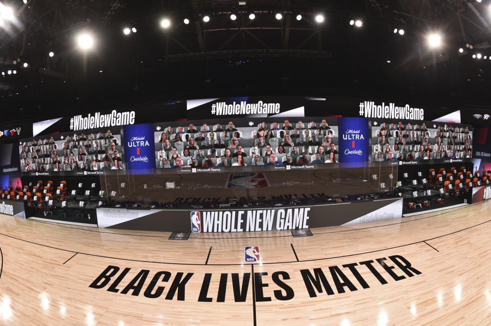 NBA restart Orlando arena