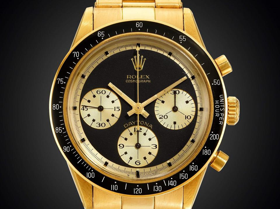 Rolex Daytona JPS reference 6264 is being sold online with an $800,000 high estimate