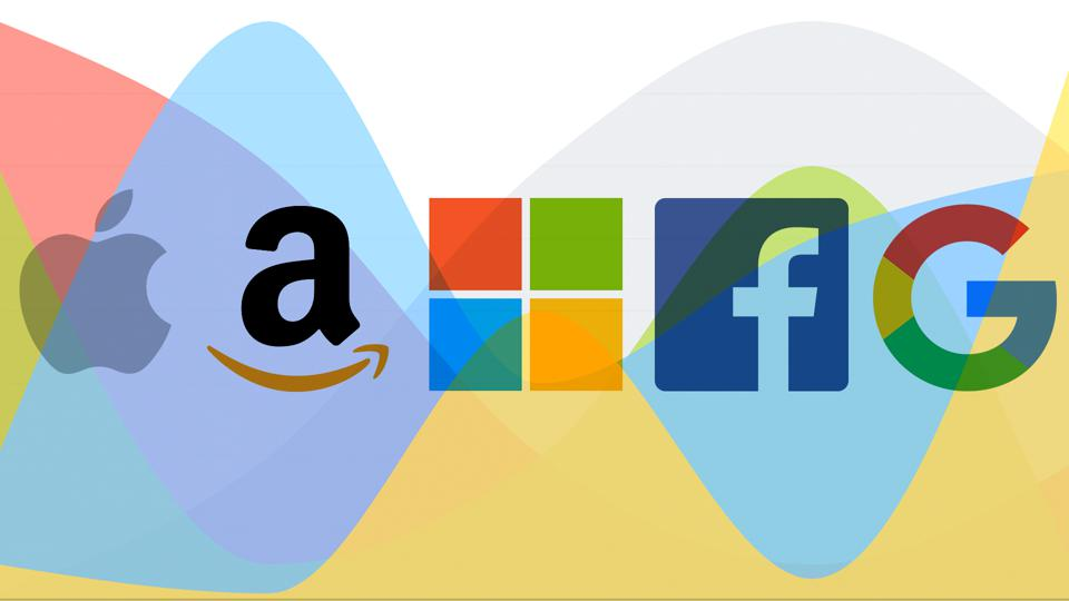 Apple, Microsoft, Amazon, Google And Facebook Make Up A Record ...