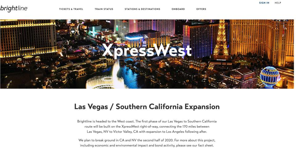 Brightline-XpressWest-Train