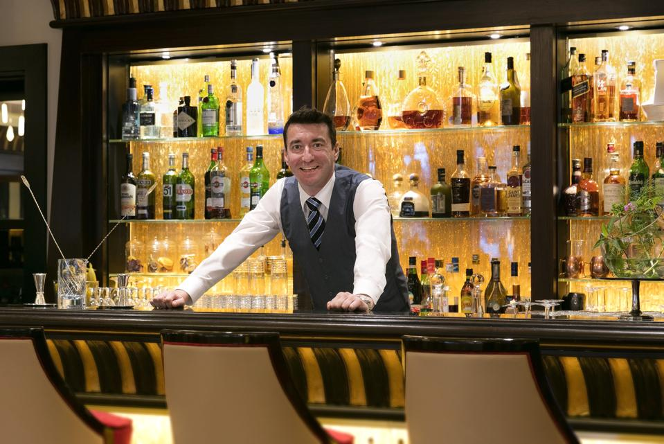 Emanuele Balestra, dubbed ″king of the aromatic cocktail.″