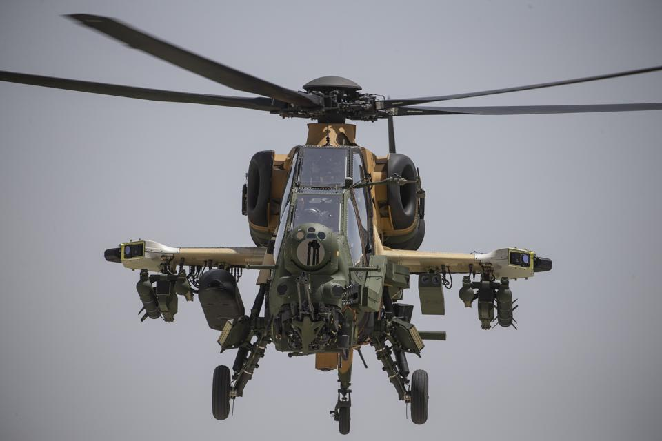 Special flight with ATAK helicopter within ″Commemoration of Ataturk, Youth and Sports Day″