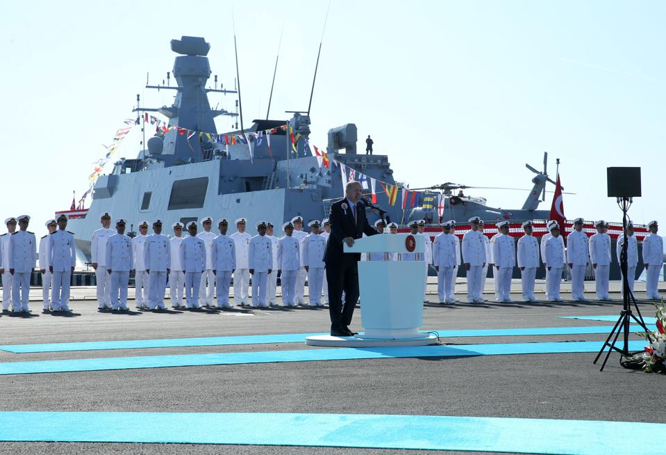 President of Turkey Recep Tayyip Erdogan in Istanbul